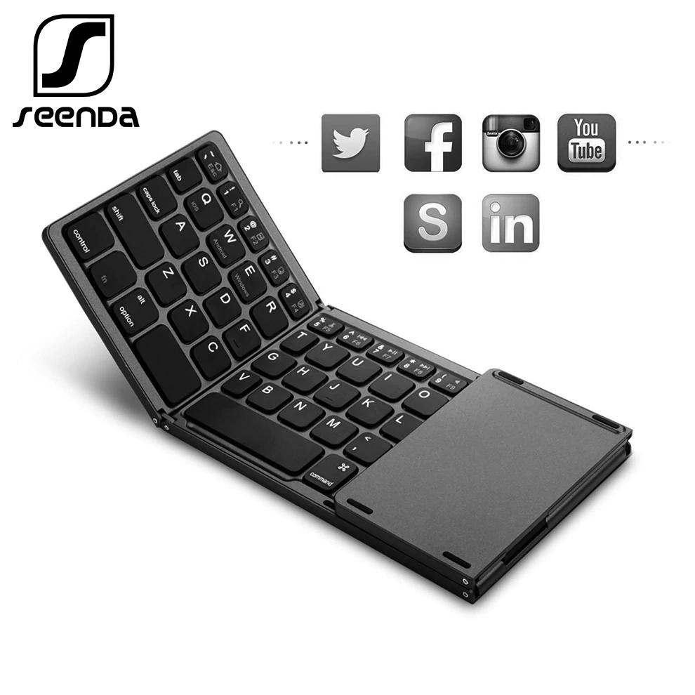 Teclado SeenDa plegable teclado inalámbrico