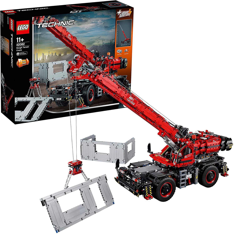 Lego Technic grúa todoterreno solo 163€