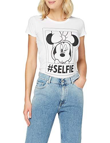 TALLA S - FABTASTICS Camiseta Minnie para Mujer
