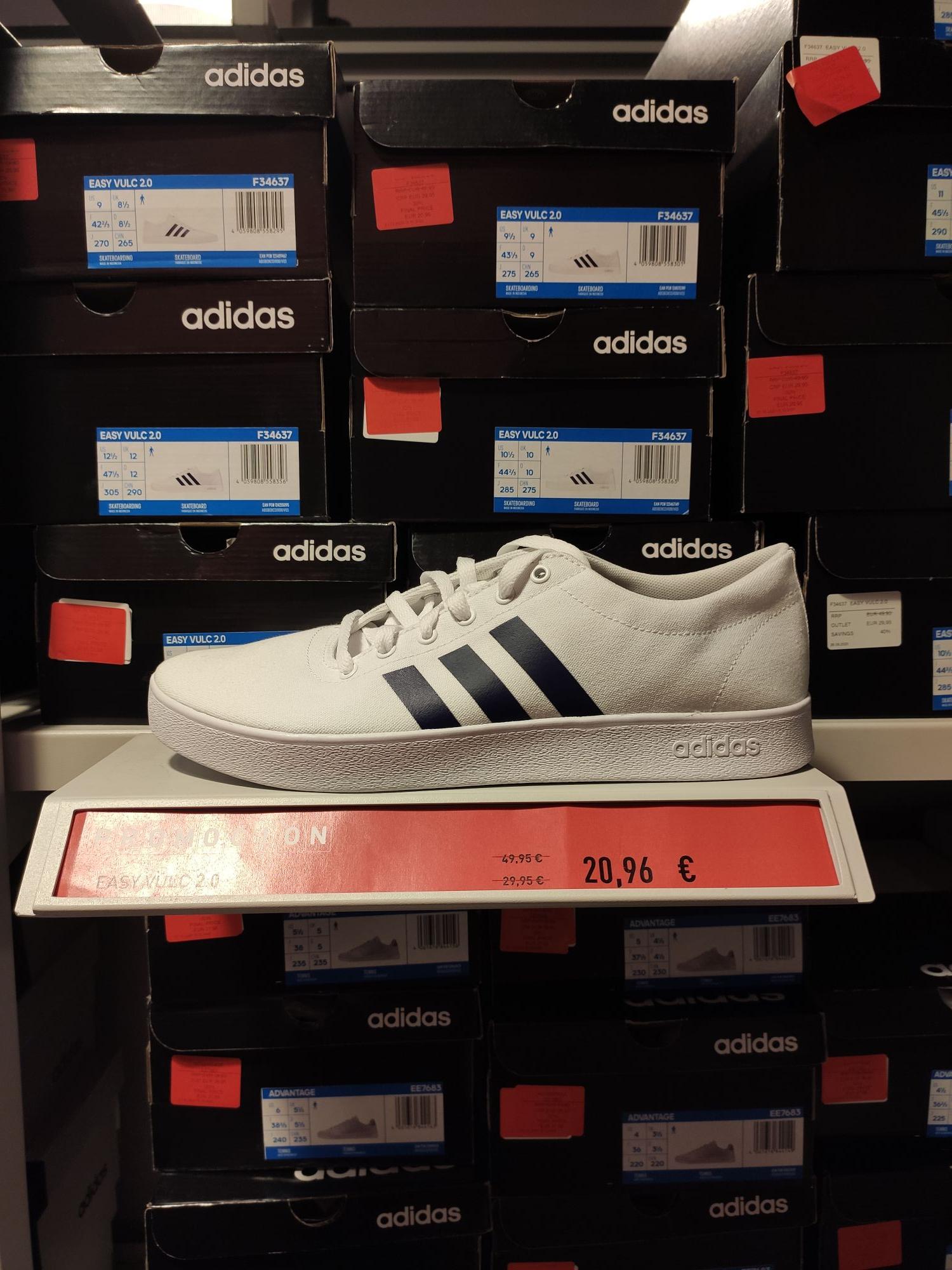 Adidas Easy Vulc 2.0 (Muchas tallas) Vega del Rey SEVILLA