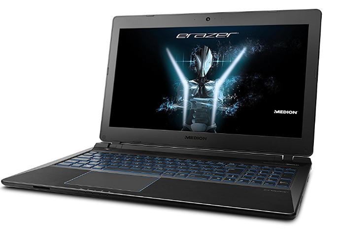 Medion Gaming i7-8550U + SSD 679€