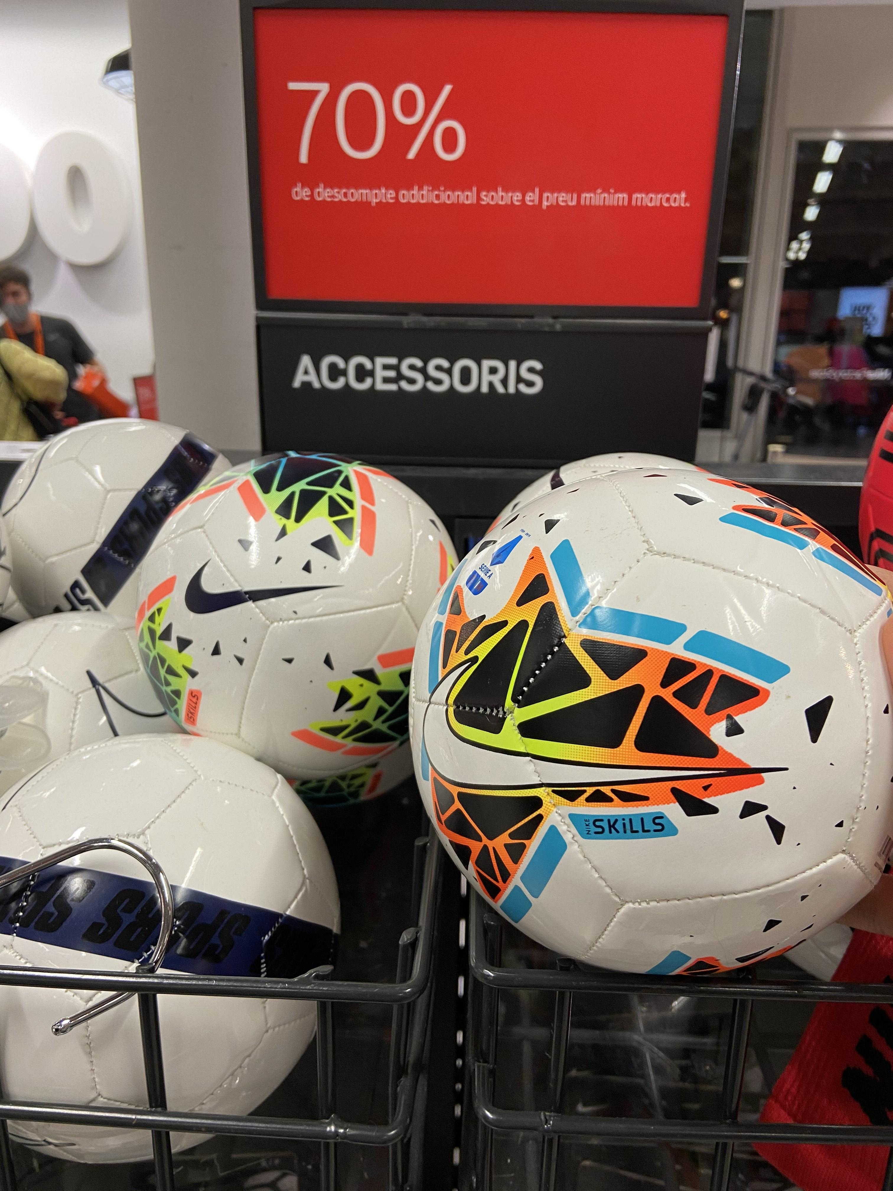 Mini Balón Nike Serie A