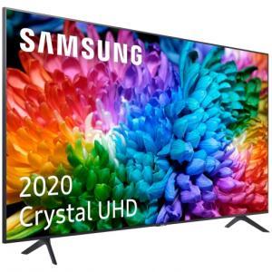 "TV LED 65"" - Samsung Crystal UHD 65TU7125, Smart TV, 4KReal y HDR10+, Compatible Asistentes de Voz, Tap View"