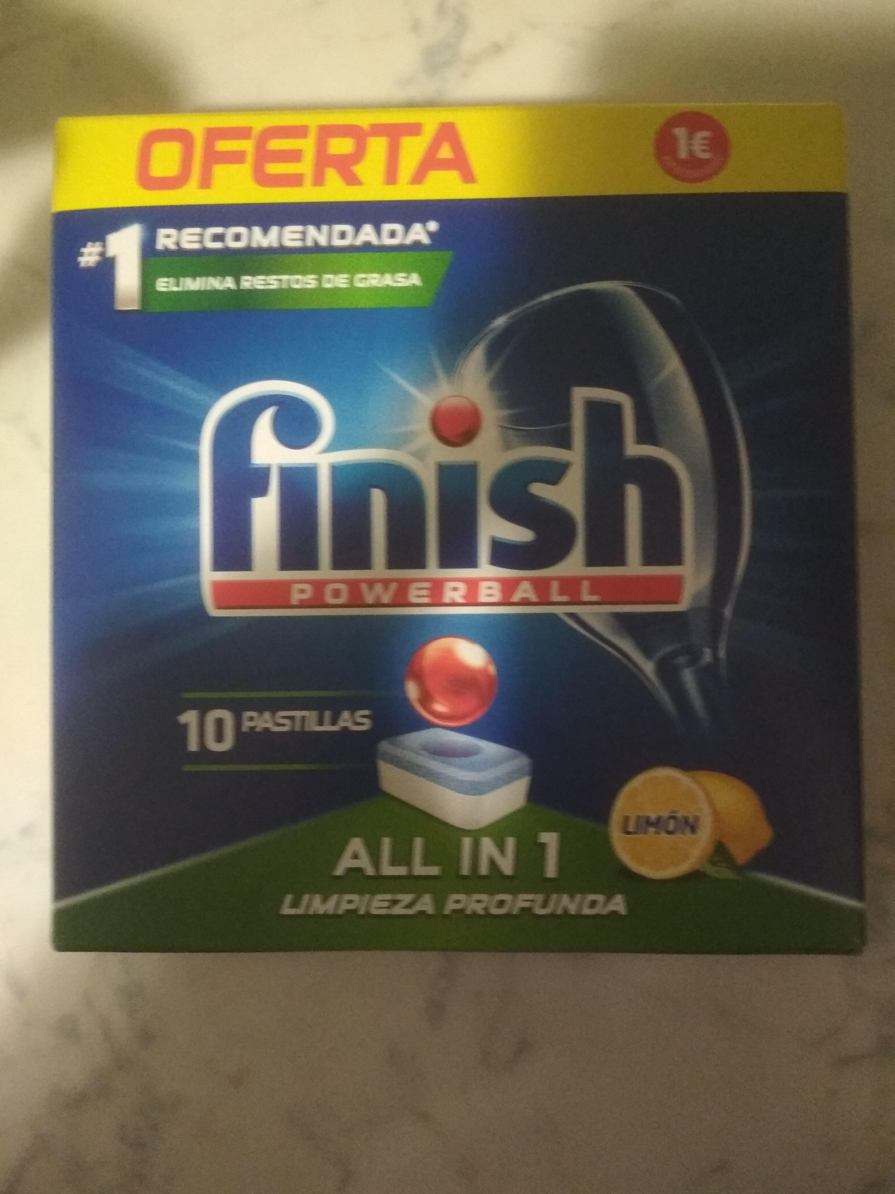 Finish lavavajillas powerball limon en Dia Sanchinarro Madrid