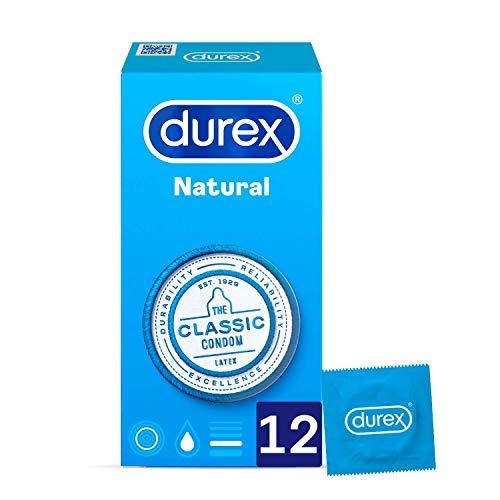 Caja 12 condones Durex Natural (0,51€/condón)