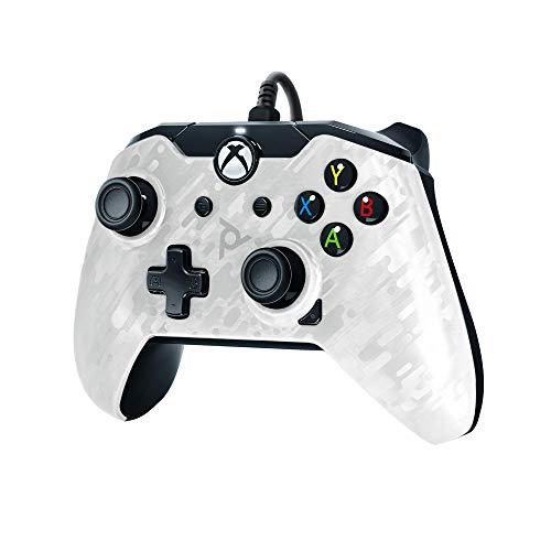PDP - Mando Licenciado Color Camuflaje Blanco (Xbox One)