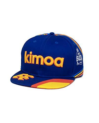 Kimoa Gorra Fernando Alonso Electric_Blue Talla Única