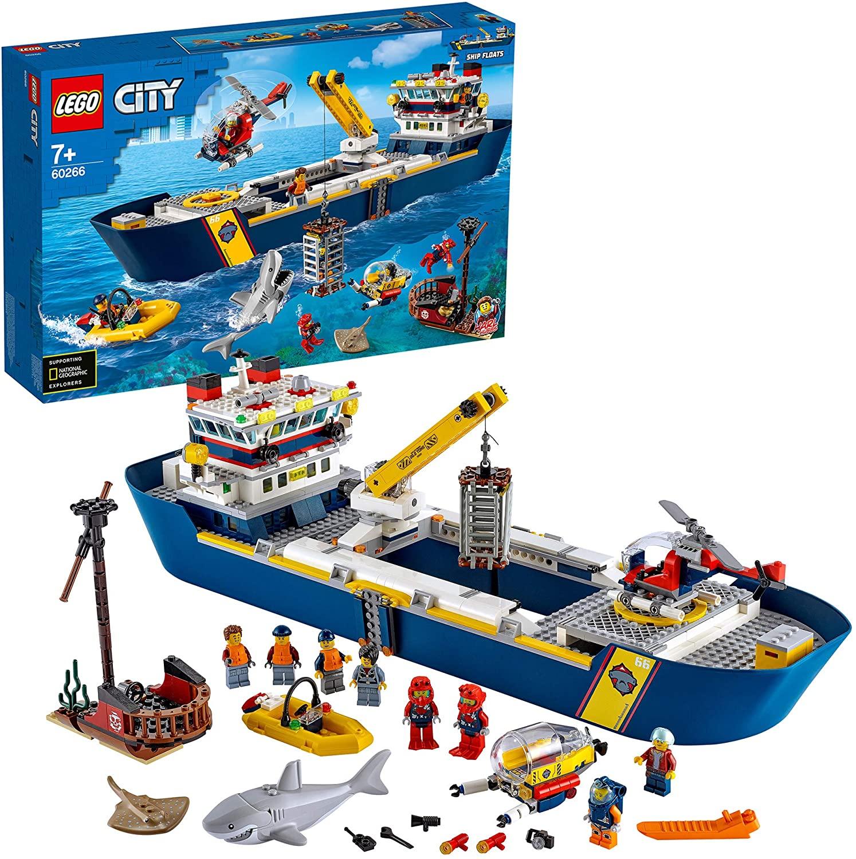 LEGO City Buque Exploración solo 85€