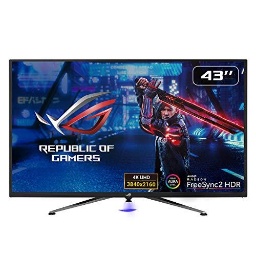 ASUS ROG Strix XG438Q - Monitor Gaming de 43'' 4K (3840x2160, 16:9, 120 Hz, 4 ms, Freesync Premium Pro, HDR 600, USB, DVI, Displayport, HDMI
