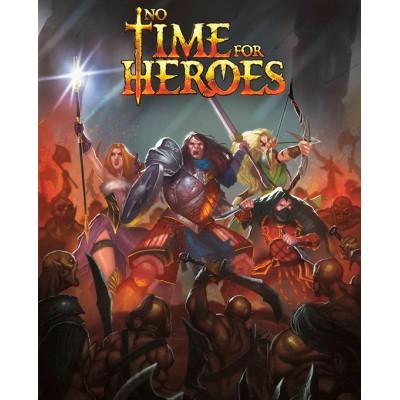 """""""No time for heroes"""", juego de cartas"""