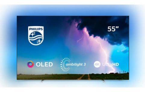 "TV PHILIPS 55"" OLED 754 SAPHI Ambilight P5 4k Smart Tv"