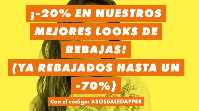 70% + 20% extra en ASOS