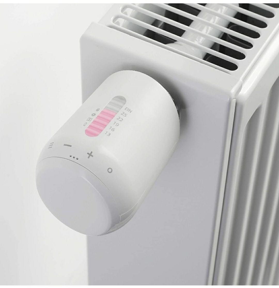Eurotronic Genius BLE 100 - Termostato para radiador con Bluetooth, Ahorra hasta un 30 % de los costes de calefacción
