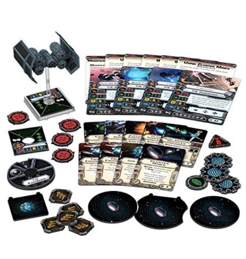 Expansión Fantasy Flight Games- Star Wars X-Wing: Castigador Tie