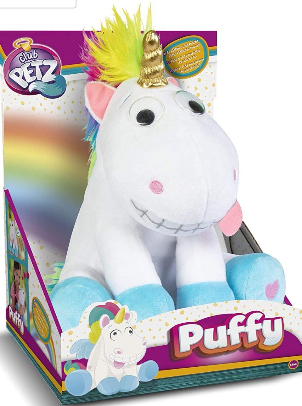 Puffy divertido peluche interactivo!