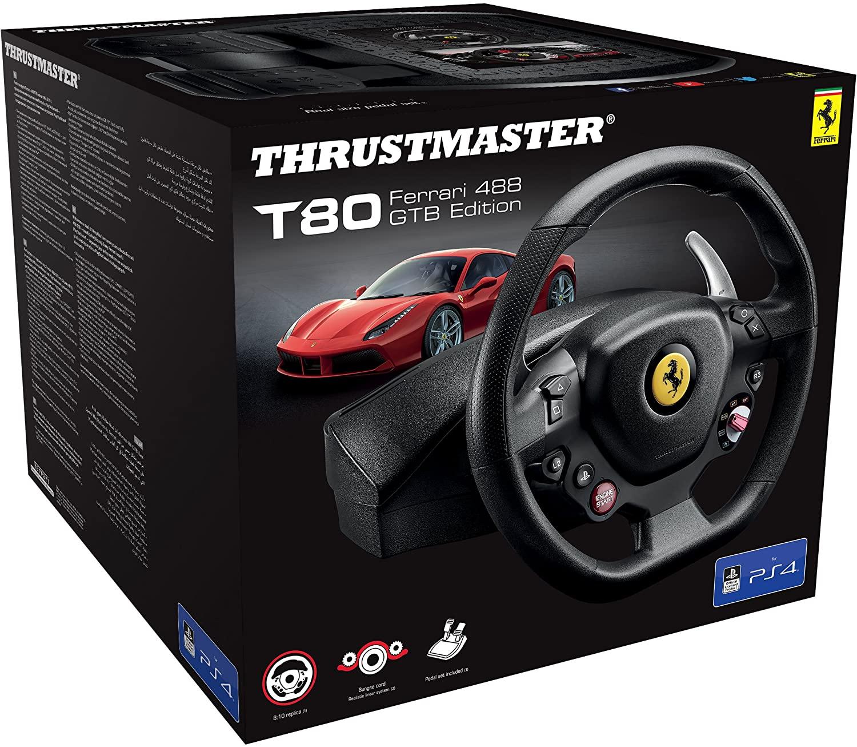 Thrustmaster T80 Ferrari 488 GTB solo 54.9€