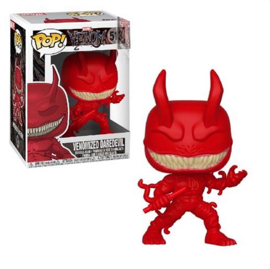 Funko- Pop Bobble: Marvel: Venom S2-Daredevil (Precio Mínimo)