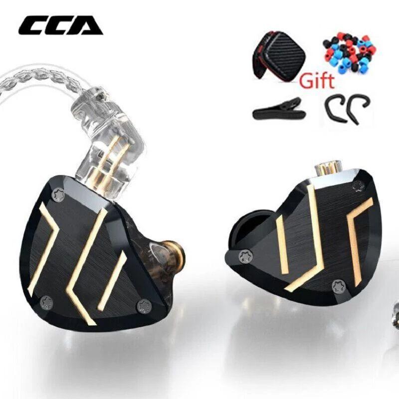 Auriculares hibridos CCA C10 Pro (1dd+4ba) + regalos