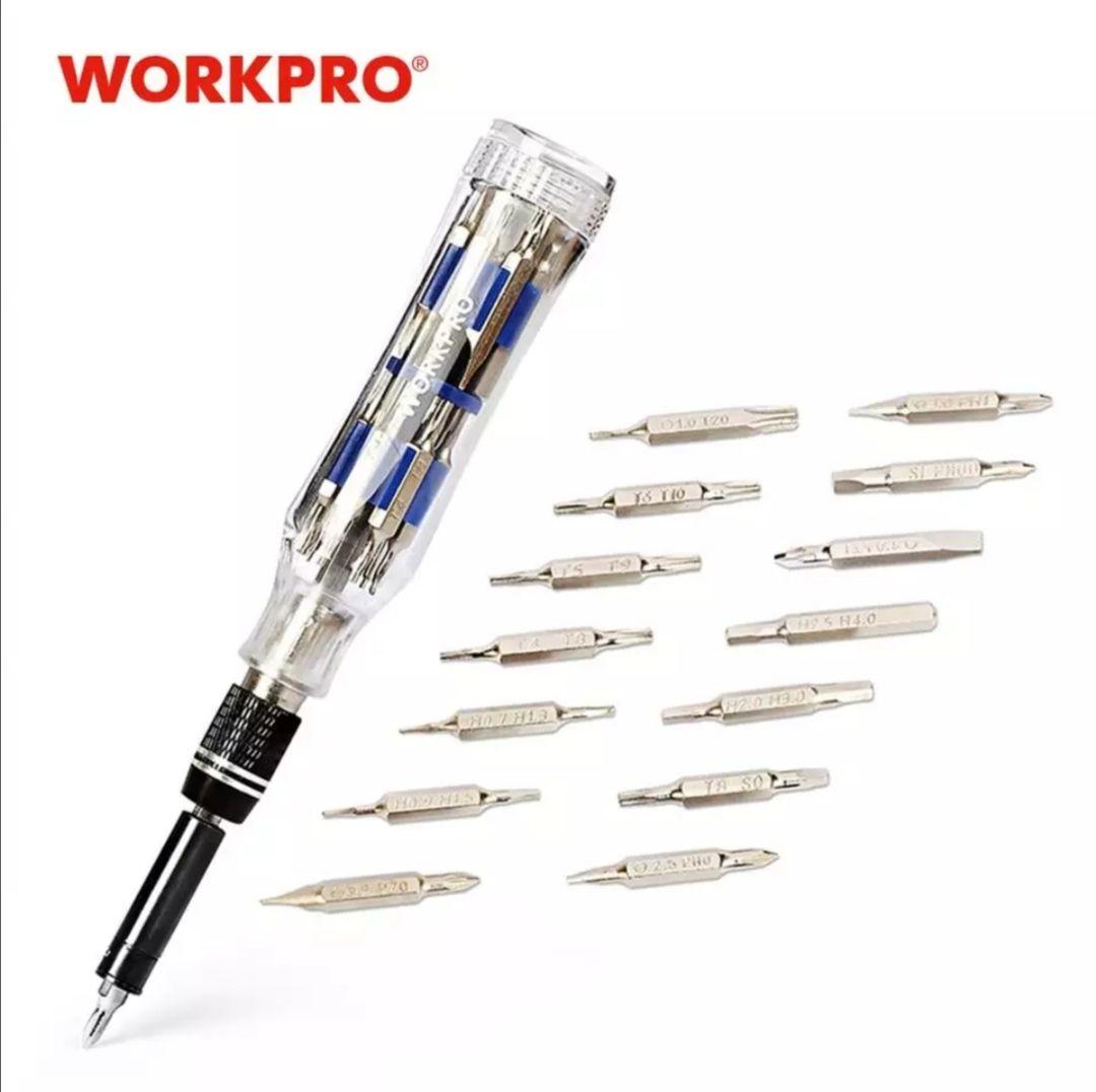 Juego de destornilladores de precisión WORKPRO 28 en 1