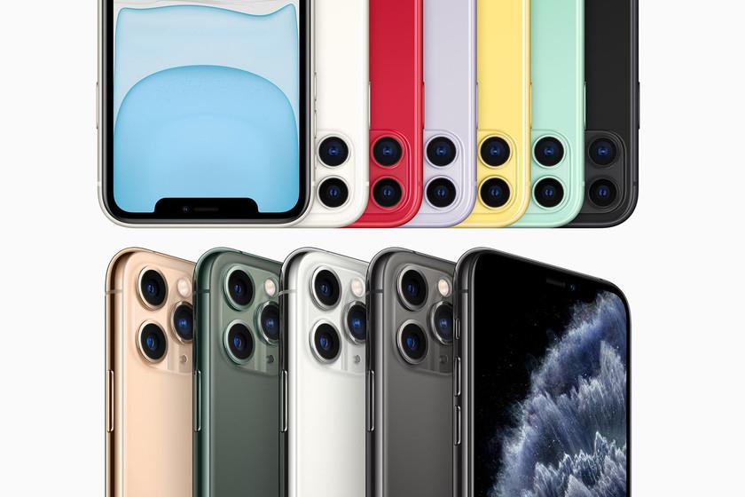 iPhone 11 / 11 Pro y 11 Pro Max (Distintas capacidades y colores)