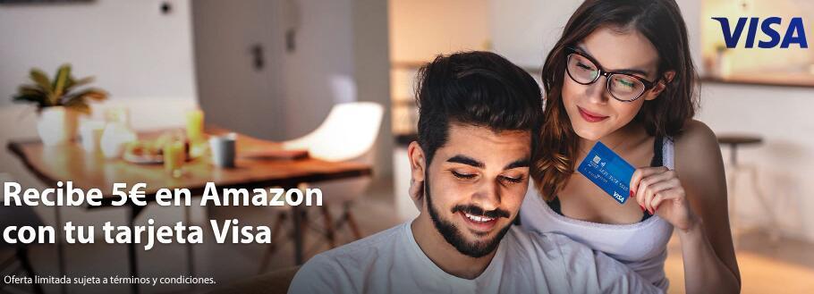 5 euros para compras en AMAZON (Cuentas seleccionadas)