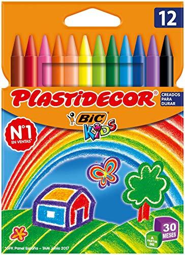 BIC Kids Plastidecor - Blíster de 12 + 2º unidad al 50%