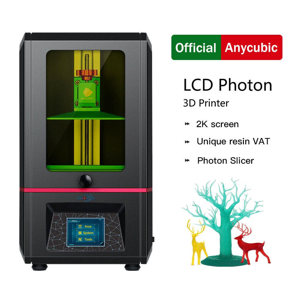 ANYCUBIC Photon Impresora 3D Resina UV 2.8 '' Smart Touch Impresión sin conexión