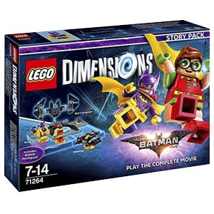 Lego Dimensions con el Story Pack de The Lego Batman Movie