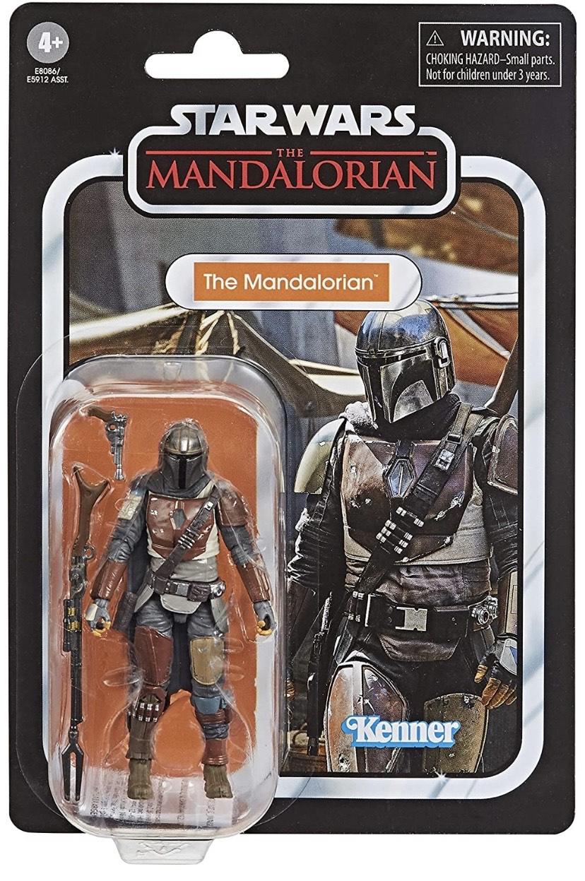 Star Wars Vintage Man Mandalorian (Hasbro