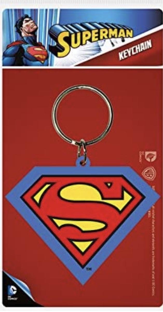 Llavero Superman Shield Pyramid International DC