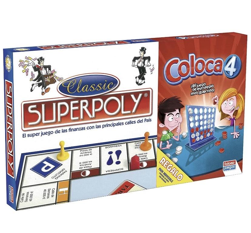 Superpoly + Coloca 4, Juego de Mesa