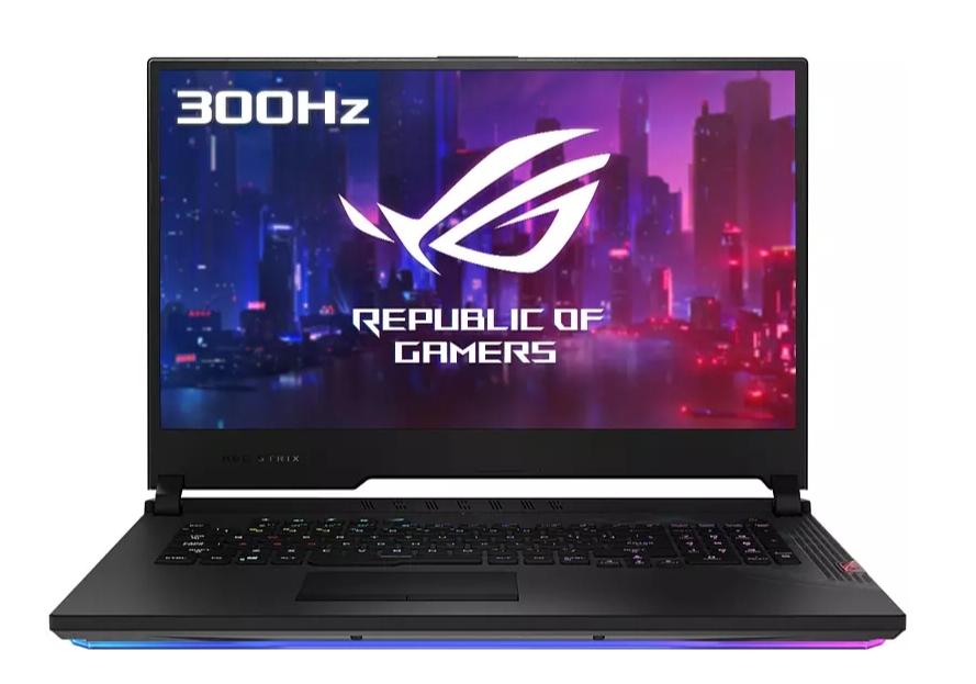 "Portátil gaming - ASUS ROG Strix SCAR 17 G732LWS-HG033T, 17.3"", i7-10875H, 32 GB,1 TB SSD, RTX™2070 SUPER, W10"
