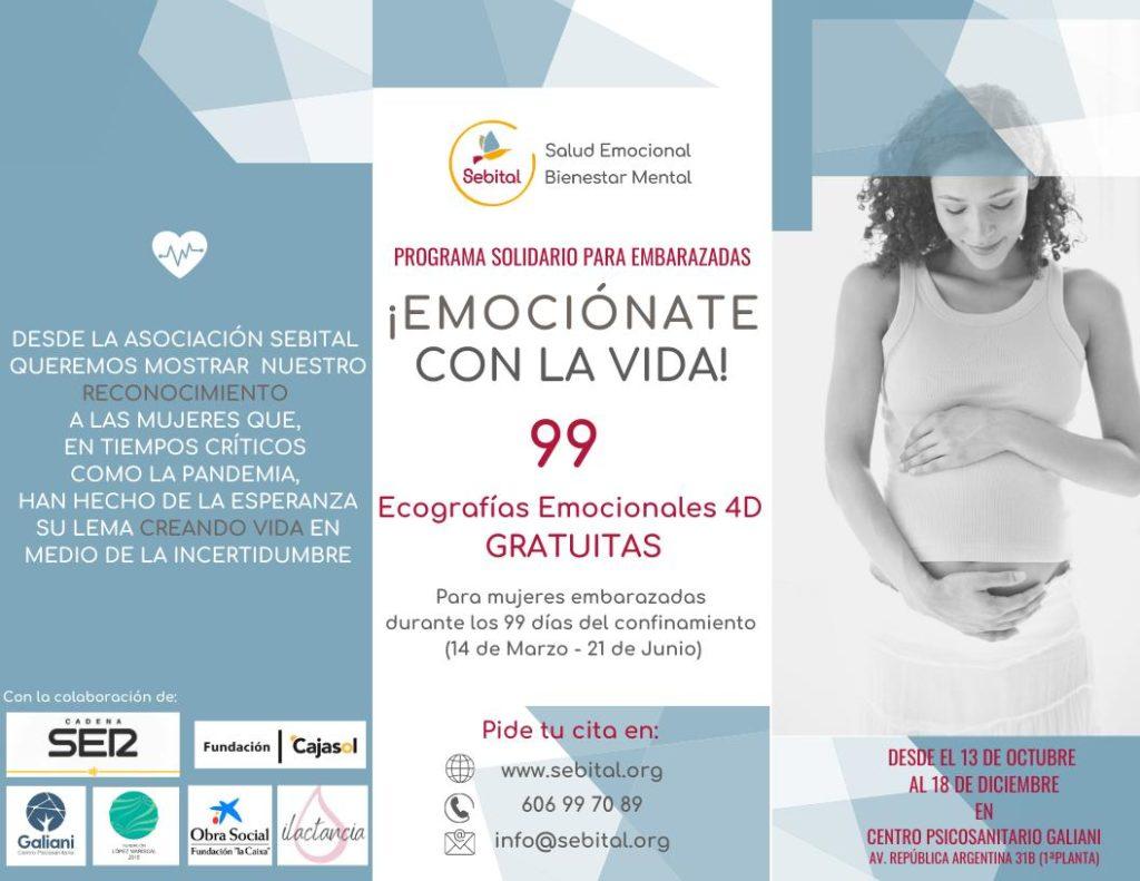 Ecografías emocionales 4D gratuitas para mujeres que hayan quedado embarazadas durante el confinamiento