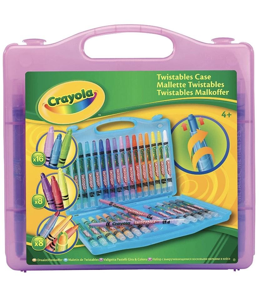 Crayola Twistables Caso, surtido de colores (caja con 32 unidades)