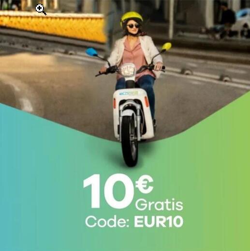 Registrate en eCooltra y tendras 10€ Gratis (Nuevos usuarios)