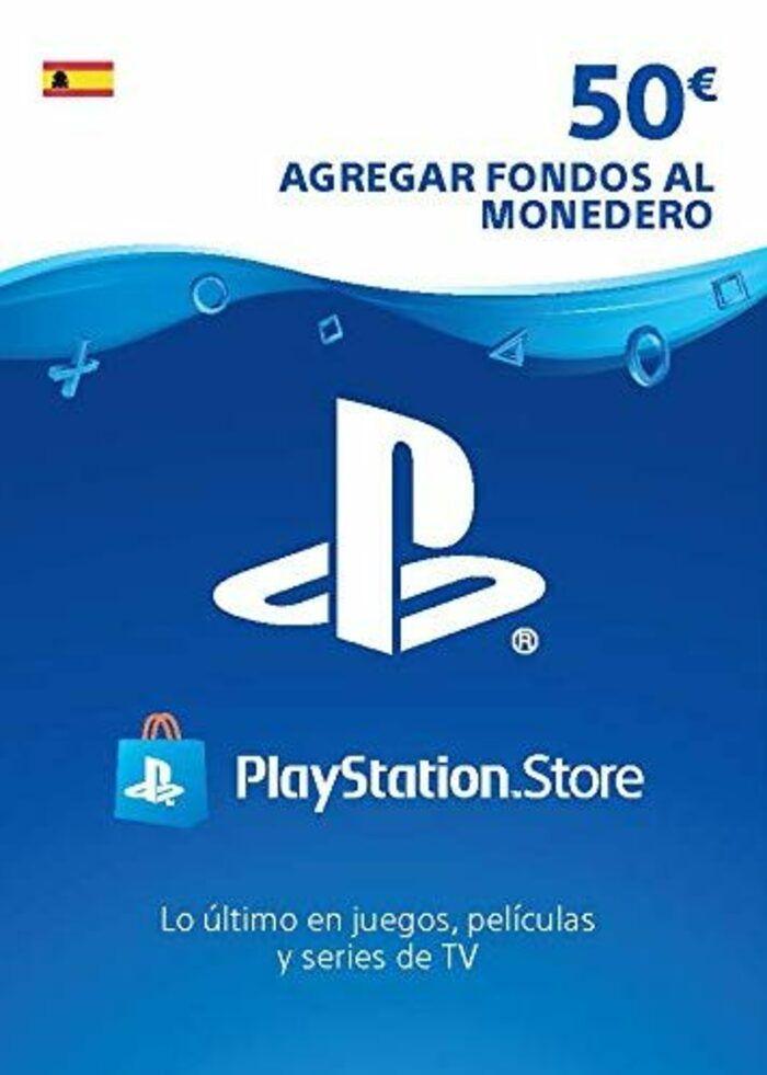 Tarjeta PlayStation Network de 50 EUR