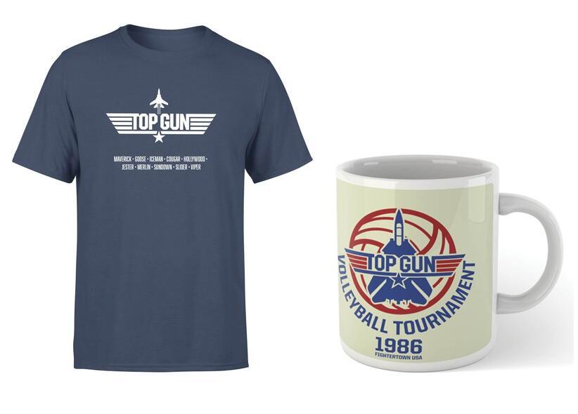 Pack Top Gun Camiseta + taza