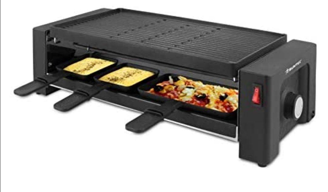 Suntec Wellness RAC-8625 Turbo plancha para pizza y raclette