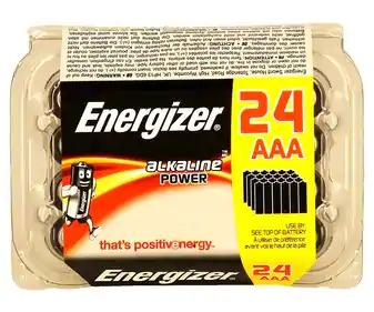 ENERGIZER: Caja de 24 pilas alcalinas (AlCampo Sant Boi y Jerez de la Frontera)