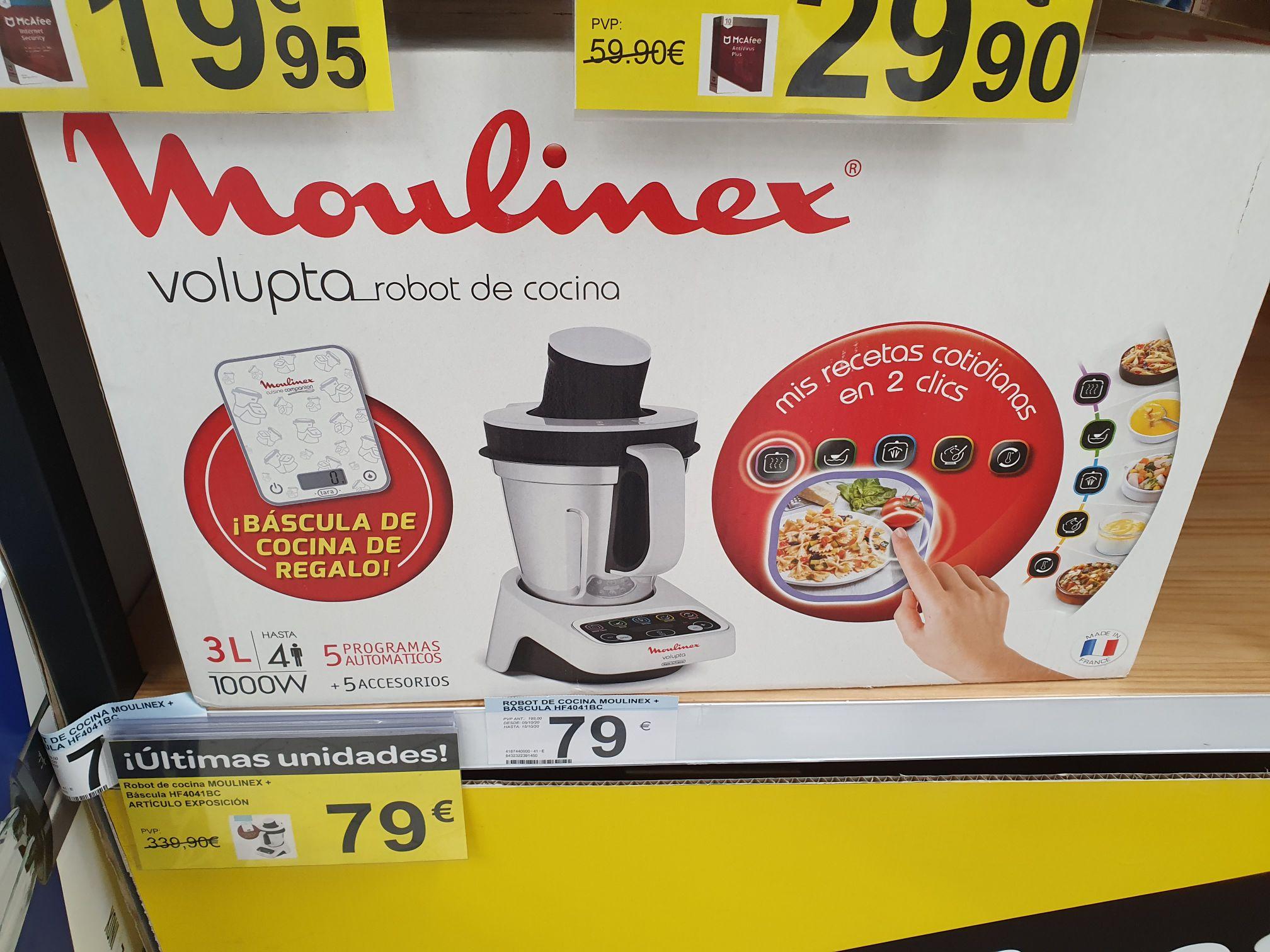 Moulinex Volupta 3L (Carrefour de Logroño)