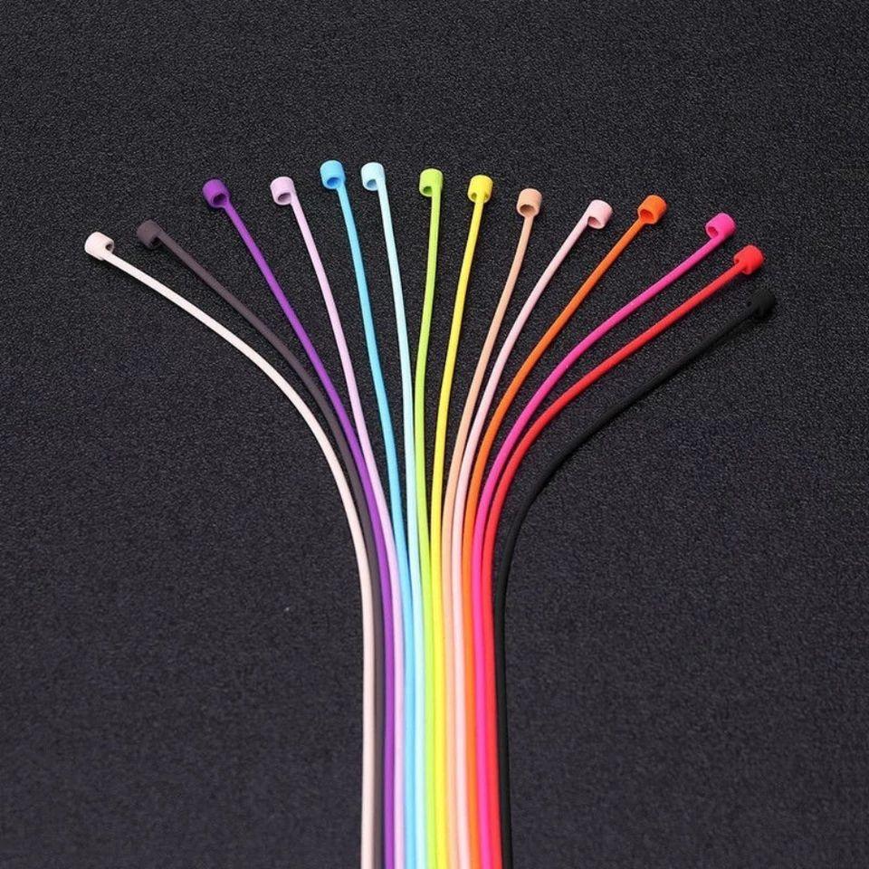 Correa de silicona antipérdida para AirPods ( en varios colores )