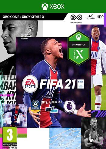 Fifa 21 Xbox One y futura serie X
