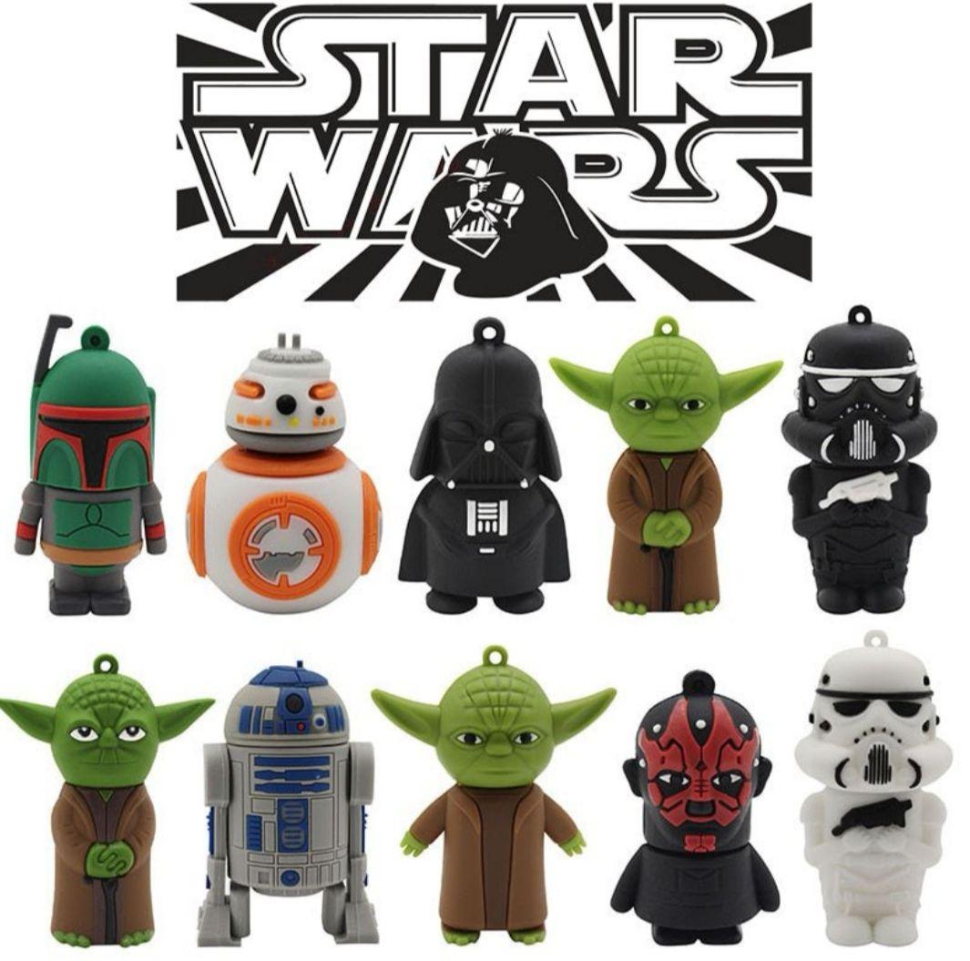 10 Modelos Pendrives - Memoria USB Star Wars desde 2.15 € (+ Detalles en Descripción)