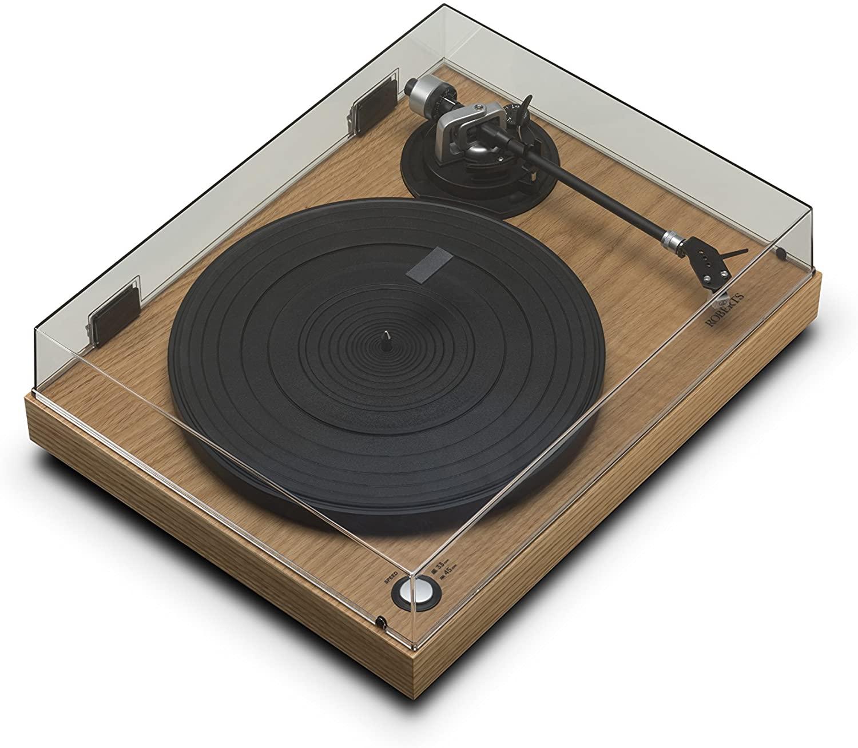 Roberts Radio RT100 Negro - Tocadiscos (Negro, 33,45 RPM, 3,5 mm, Corriente alterna, 448 mm, 366 mm). Mínimo histórico