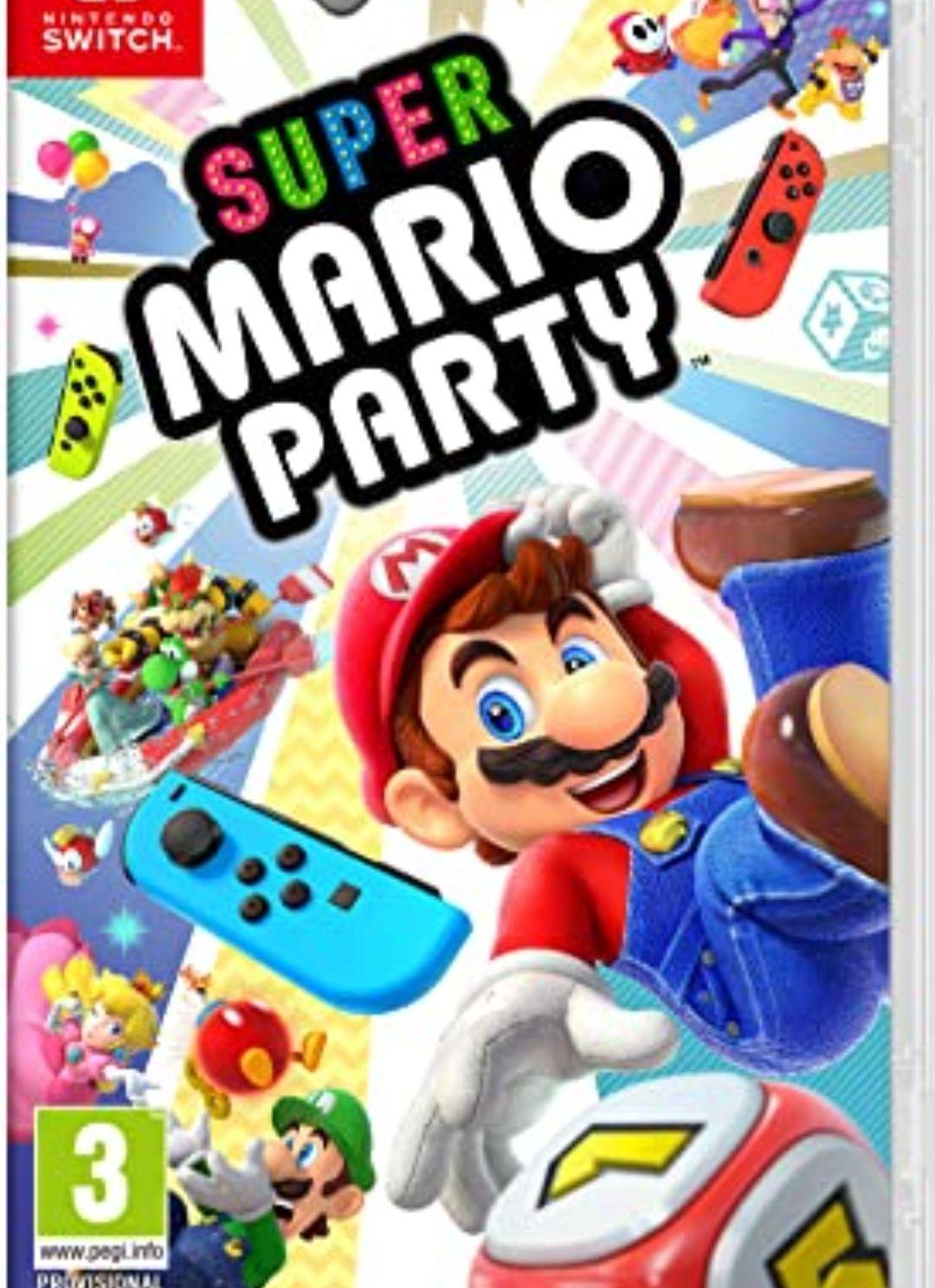 Mario party para nintendo switch por 42€ en Amazon