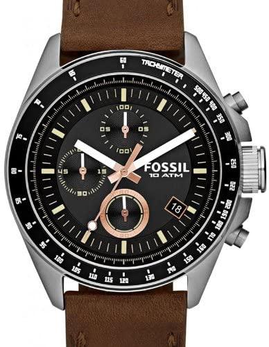 Reloj Fossil Cuero 10 ATM solo 55.8€