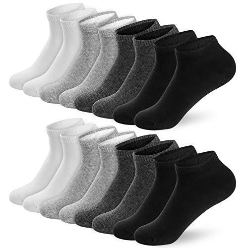 8 Pares calcetines deportivos tobilleros Oferta flash con prime