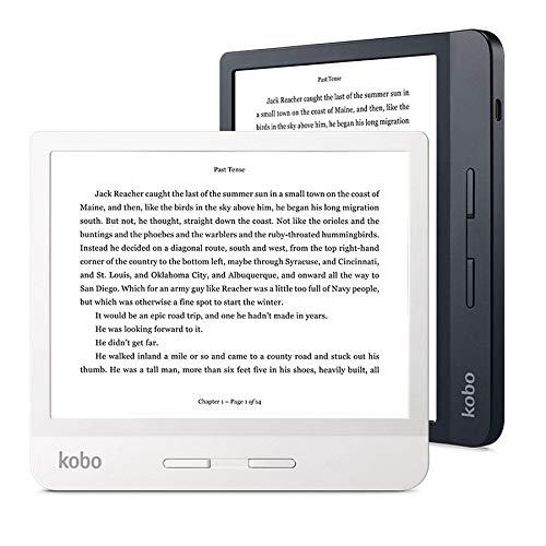 Kobo - Ereader - Kobo Libra H2O, 7 HD, botones laterales, blanco