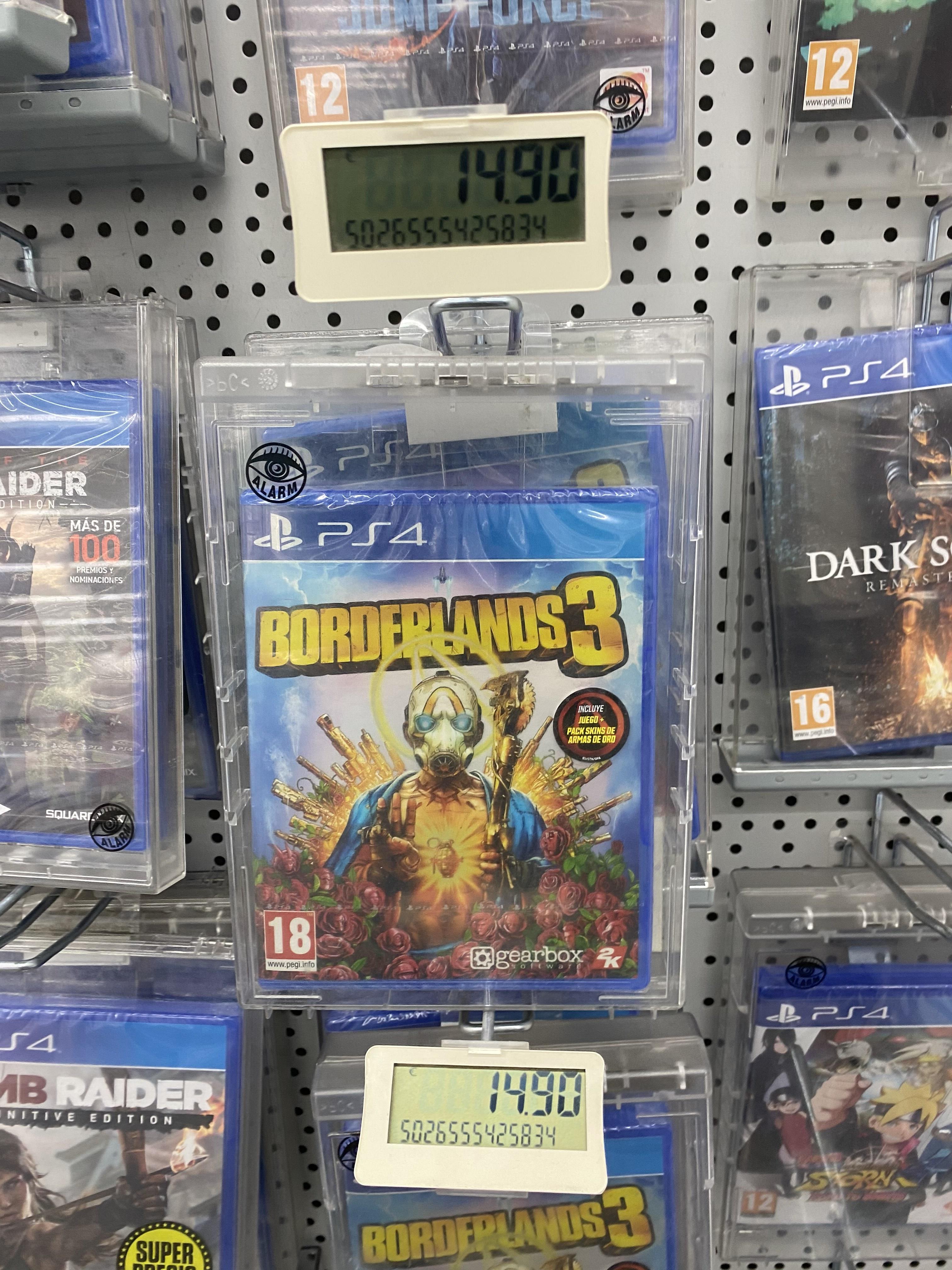 Borderlands 3 para PS4 (Mediamark)