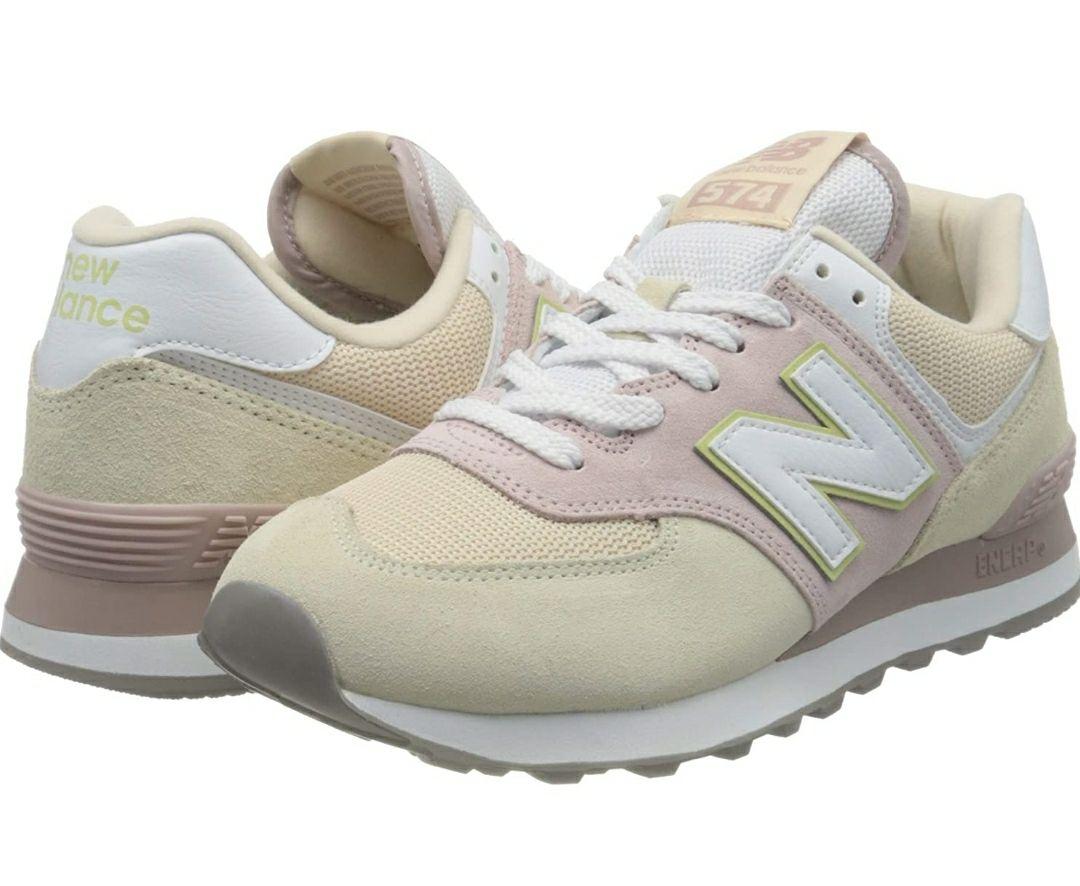 TALLA 41 - New Balance 574 Wl574lbl Medium, Zapatillas para Mujer